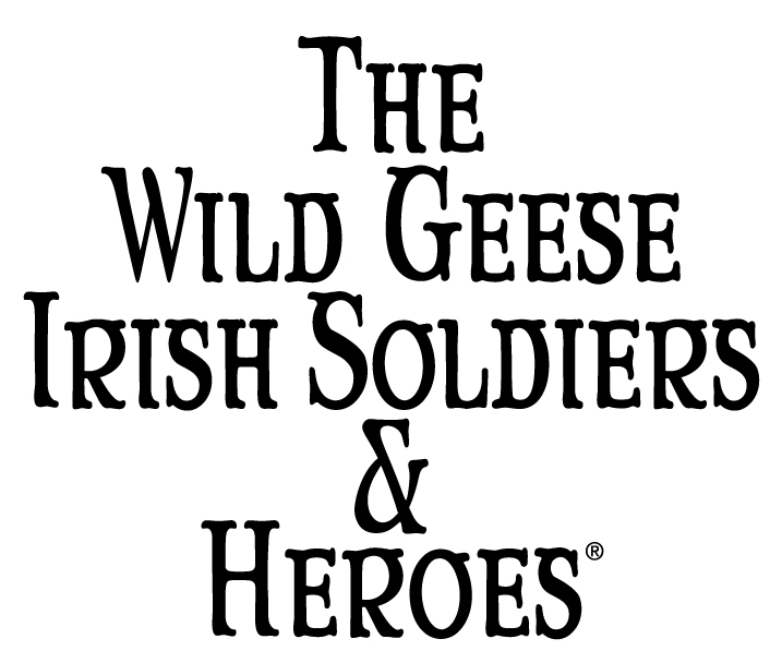 The Wild Geese Irish Soldiers and Heroes - Logo